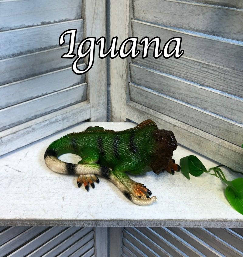 Small Reptile Critter Resin Garden Statue