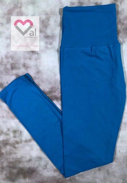 Solid Turquoise Leggings