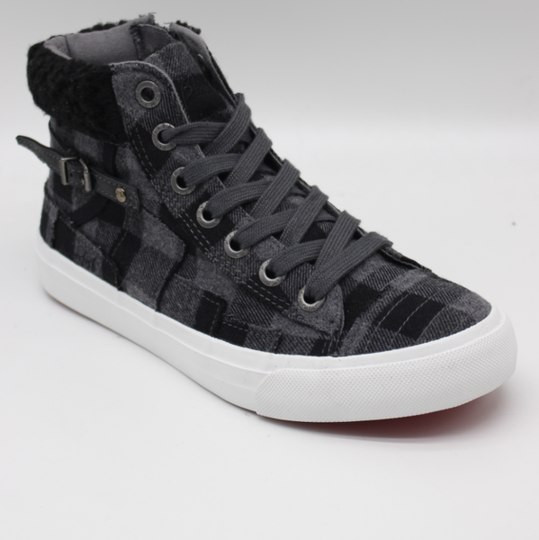 Blowfish Memphis Grey Mini Buffalo High Top Shoe