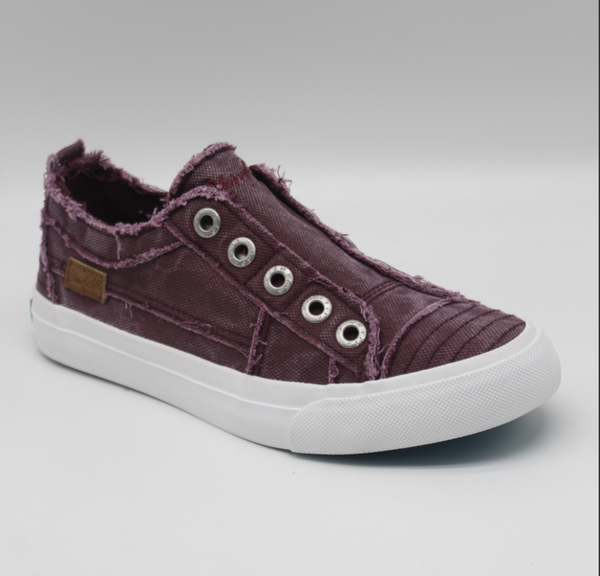 Blowfish Play Andorra Smoked Low Top Canvas Sneakers