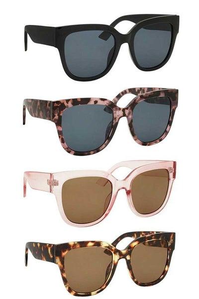 Large Cat Eye Fashion Sunglasses