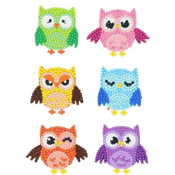 Owl Diamond Painting Sticker Kit for Kids