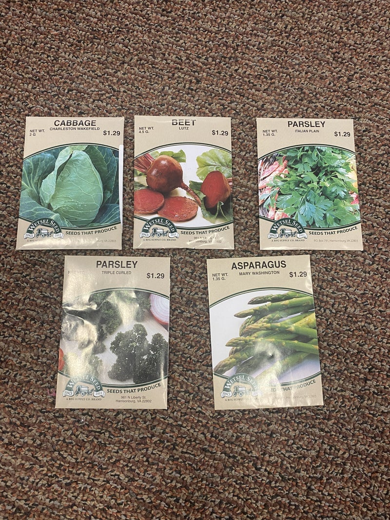 Seed Packets - Misc
