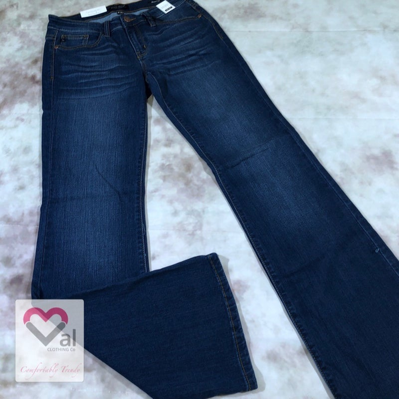 Judy Blue Mid-rise Rayon Bootcut Jeans