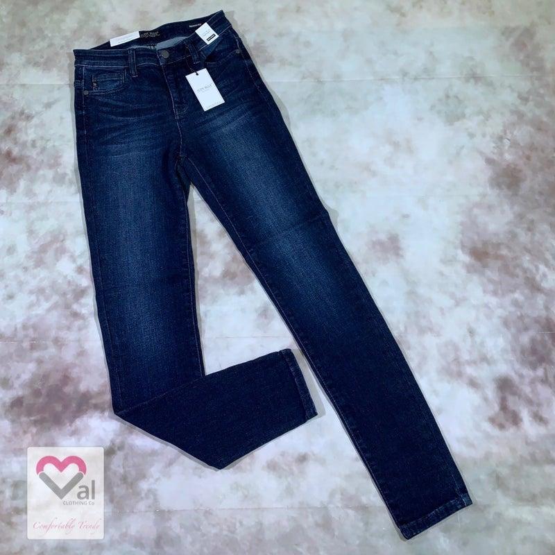 Judy Blue High Rise Super Dark Wash Skinny Jean