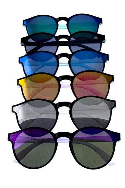 Kida Round Retro Sunglasses