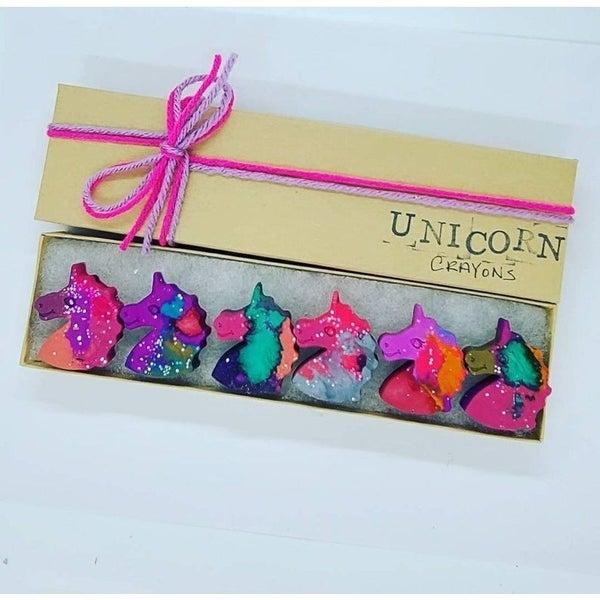 Unicorn Emoji Crayons