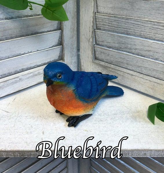 Small Bird Critter Garden Statue
