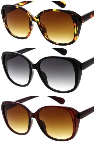 Classic Rounded Fashion Sunglasses