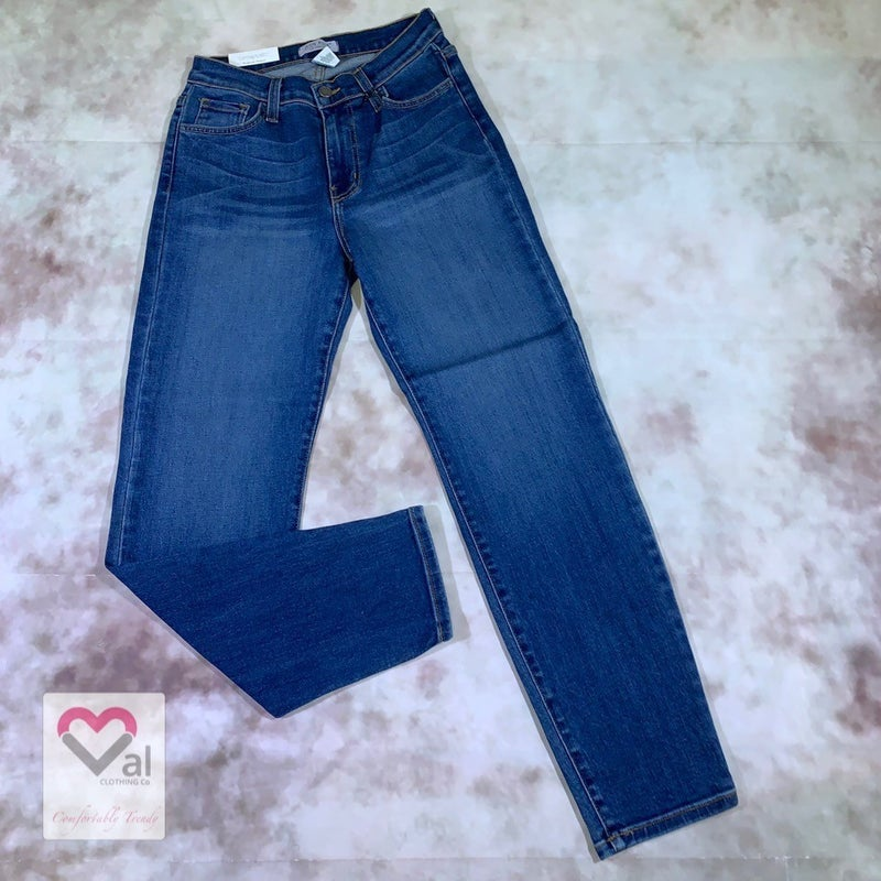 Judy Blue High Waist Tapered Slim Fit Jeans