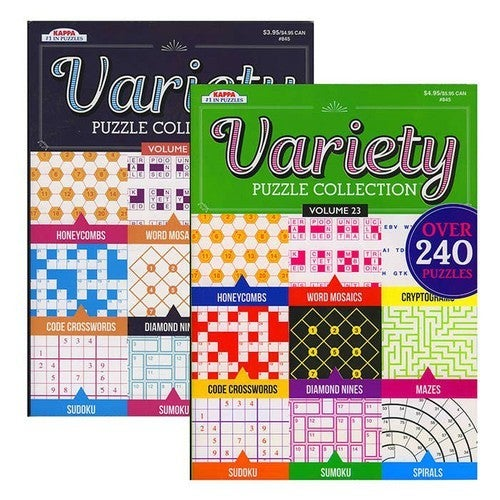 Variety Puzzle Collection Activity Book