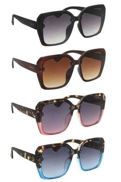 Modern Square Fashion Sunglasses