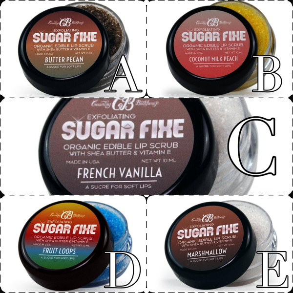 Sugar Fixe Lip Scrub