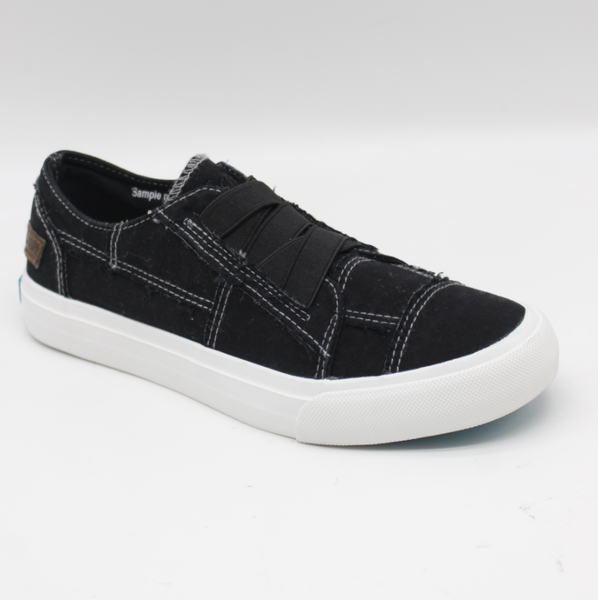 Blowfish Marley Black Canvas Sneaker