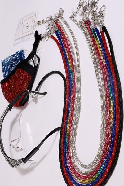 Rhinestone Lanyard for Glasses,ID Strap, etc