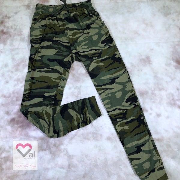 Leggings Material Camo Printed Joggers