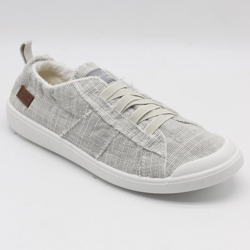 Blowfish Low Top Light Grey Twill Vex Sneakers