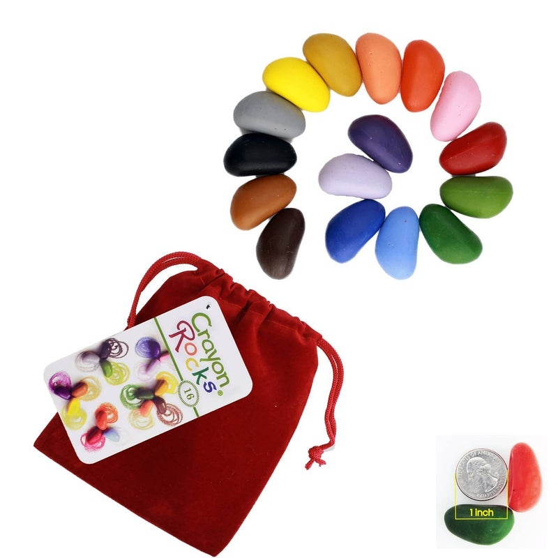 Crayon Rocks - 16 Pack