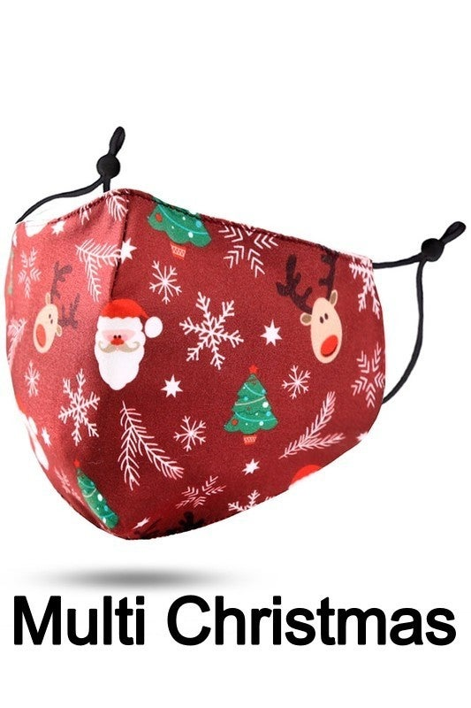 Christmas Themed Face Covering - Kids Size