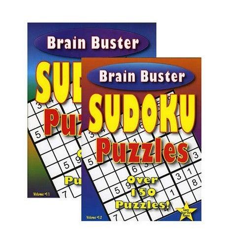 Brain Buster Sudoku Puzzle Book
