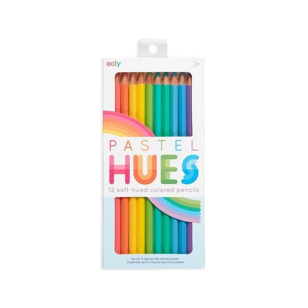Pastel Hues Colored Pencils - Set of 12