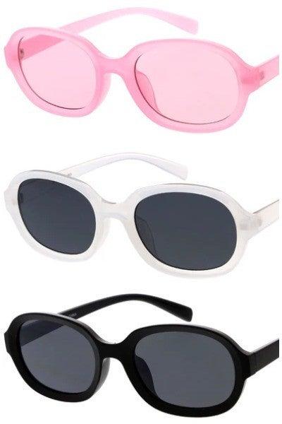 Rounded Vintage Fashion Sunglasses