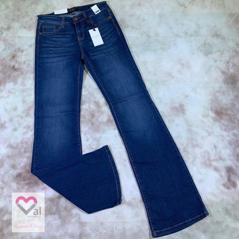 Judy Blue Mid Rise Dark Wash Bootcut Jeans