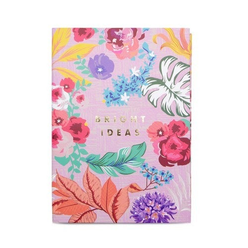 Tropical Floral Notepad and Pen