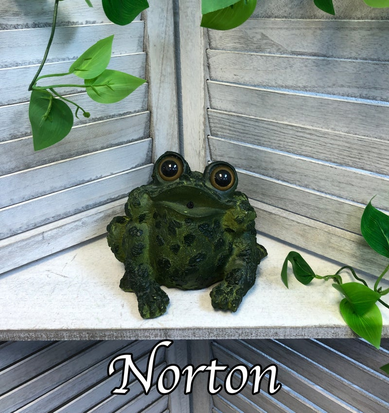 Frog Critter Croaker Garden Statue