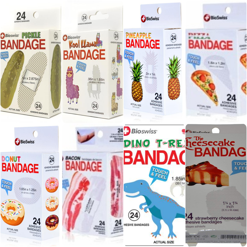 Assorted Fun Shapes Bandages
