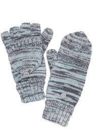 CC Four-Tone Fingerless Glove