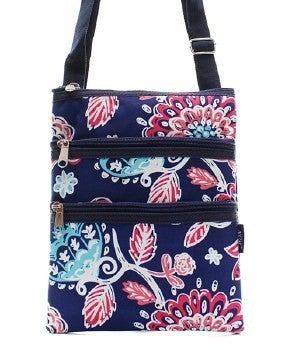 Canvas Printed Messenger Bags