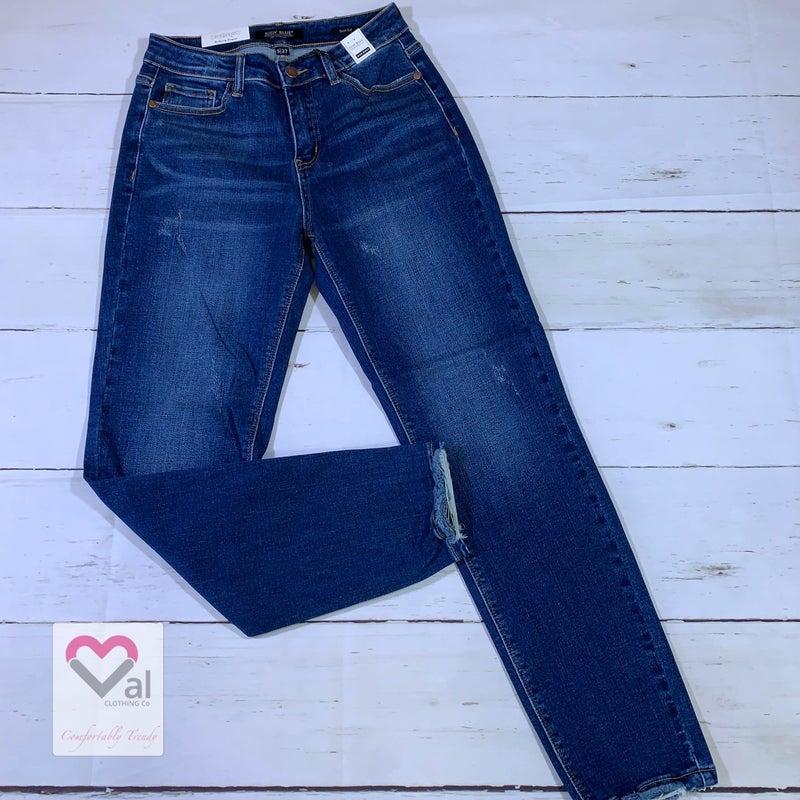 Judy Blue Dark Wash High Waisted Slim Fit Jeans