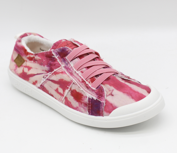 Blowfish Low Top Berry Crush Tie Dye Elastic Vex Sneakers