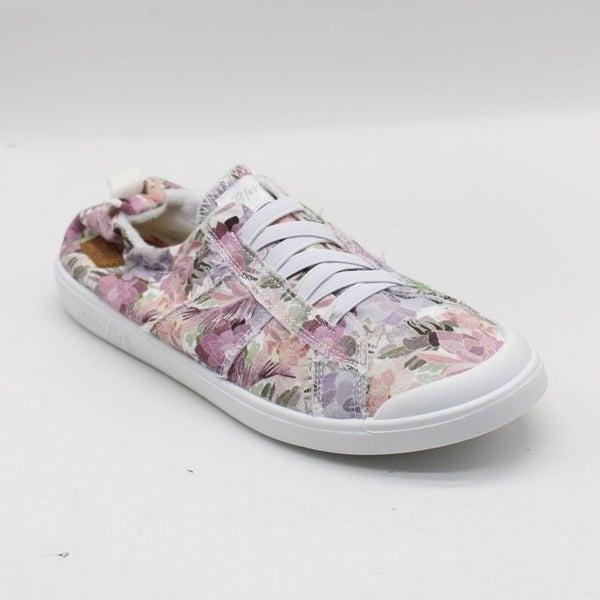 Blowfish Low Top White Superbloom Elastic Vex Sneakers