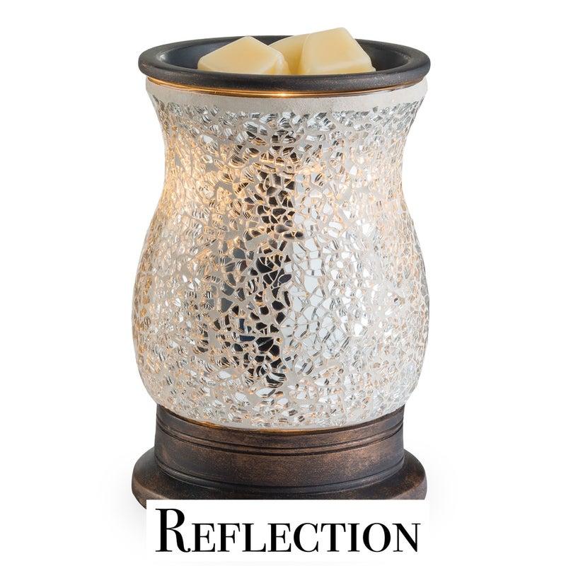 Glass Mosaic Illumination Fragrance Warmers