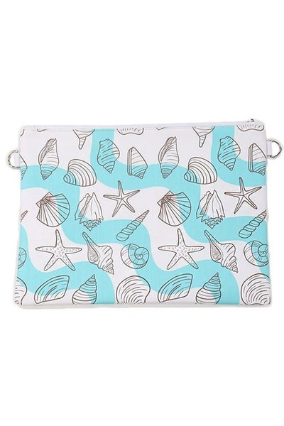 Women's Printed Clutch Bag