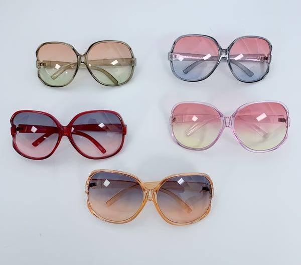 Oversized Round Fashion Sunglasses