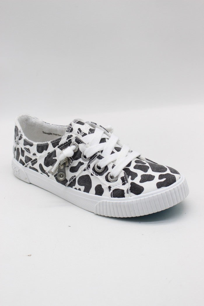 Blowfish Fruit Low Top Milkshake Canvas Lace Sneakers