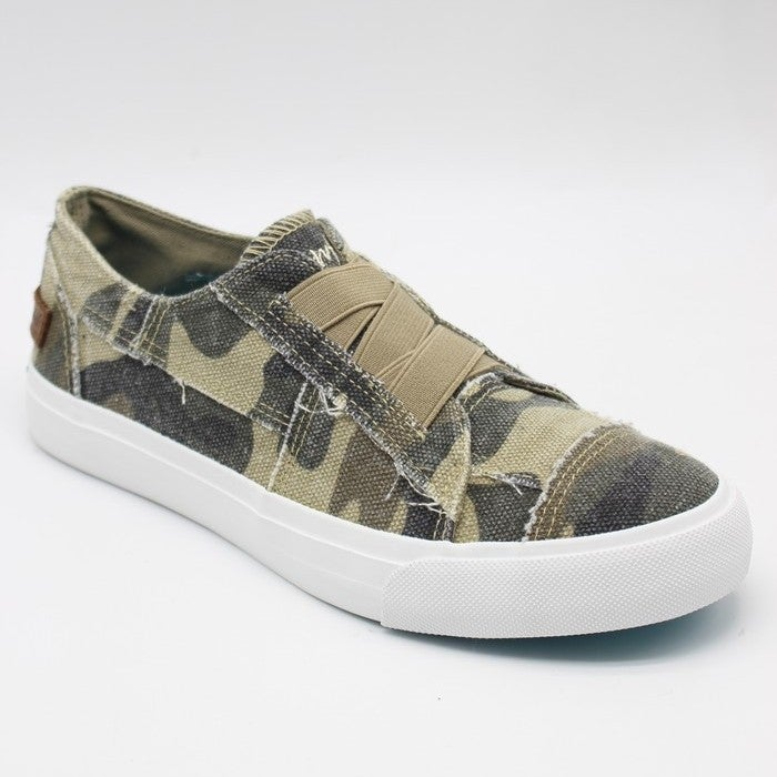 Blowfish Low Top Natural Camo Canvas Sneaker