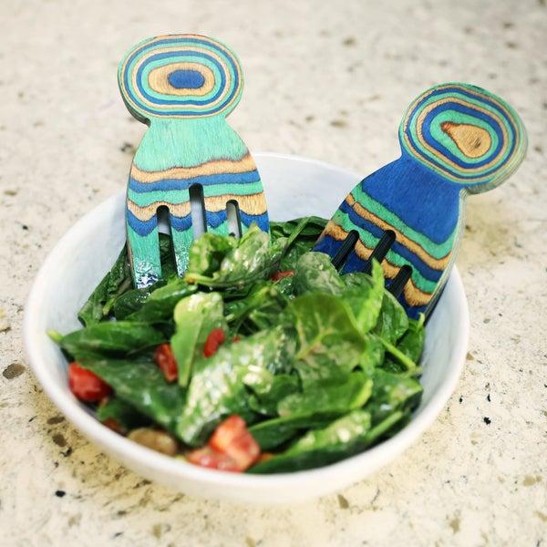 Island Bamboo Salad Hands