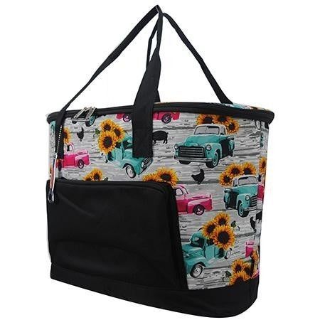 Large Printed Cooler Bag