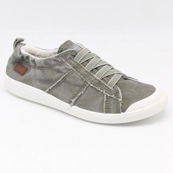 Blowfish Low Top Steel Grey Elastic Vex Sneakers