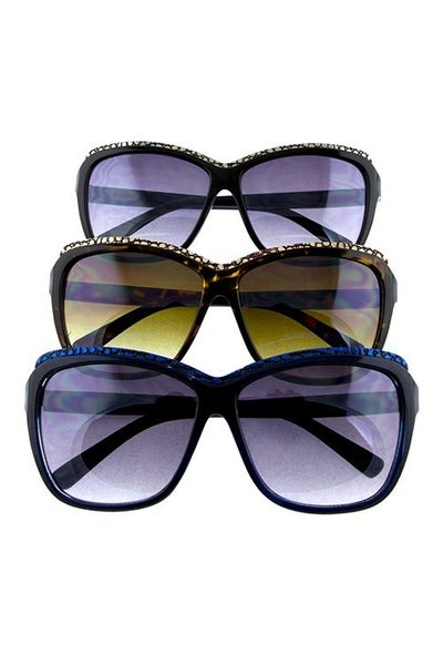 Square Brow Top Fashion Sunglasses