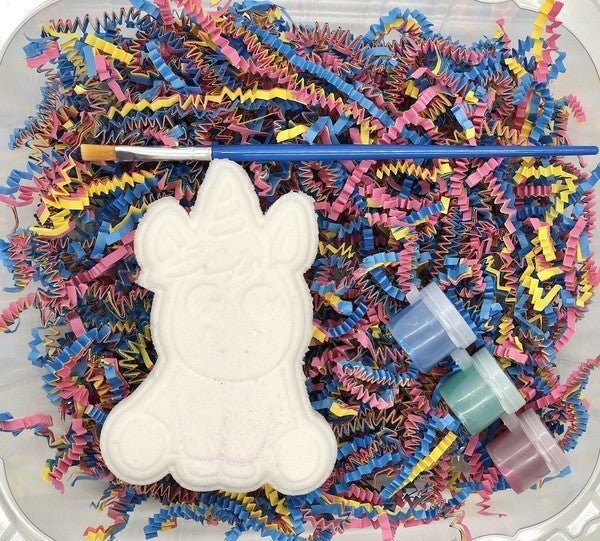Paint Your Own Bath Bomb Kit