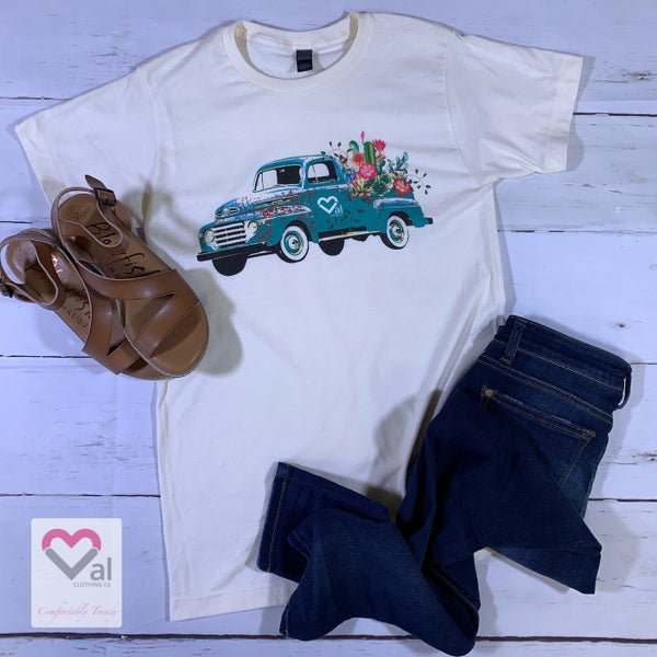 Short Sleeve Spring Val Truck Graphic Tee