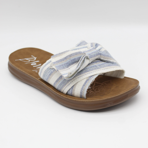 Blowfish Saturn Blue Windward Linen Sandals