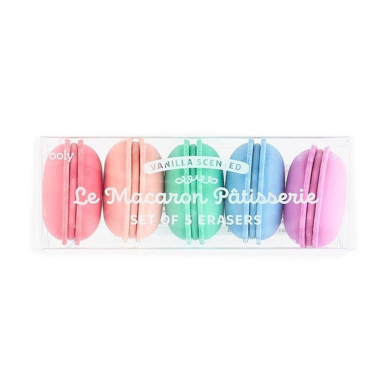 Le Macaron Patisserie Scented Eraser - Set of 5
