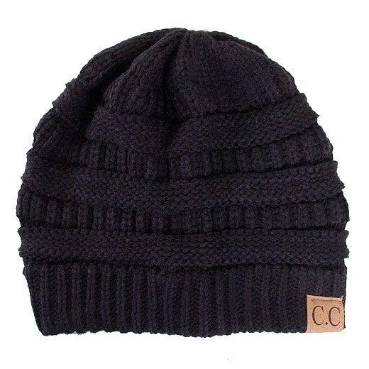 Solid CC Beanie Hat