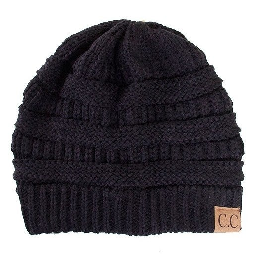 Solid CC Beanie Hat